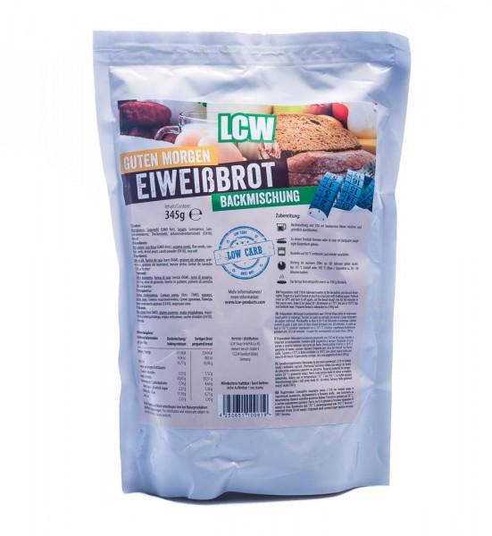 """LCW Eiweißbrot Backmischung """"Guten Morgen"""" Low Carb, 345 g"""