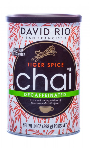 David Rio Tiger Spice Decaf Chai, 398 g