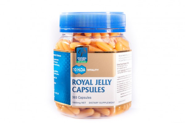 Manuka Health Gelee Royal Kapseln 1000 mg, 365 Kapseln