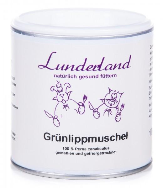 Lunderland Grünlippmuschelpulver, 100 g