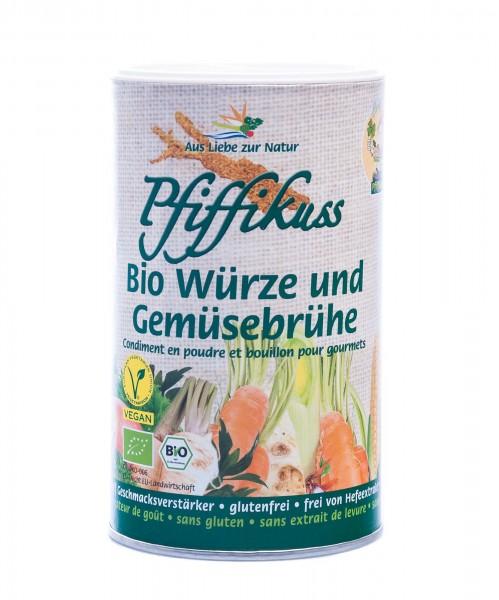 Pfiffikuss Bio Würze und Gemüsebrühe, 250 g