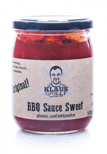 Klaus Grillt BBQ Sauce Sweet, 460 ml