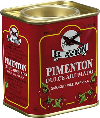 Pimentón Dulce Ahumado Süßes Paprikapulver geräuchert, 75 g