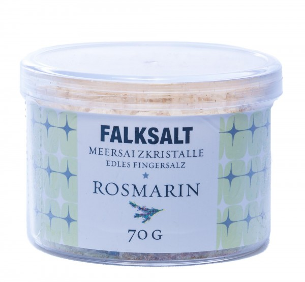 Falksalt Fingersalz Rosmarin, 70 g