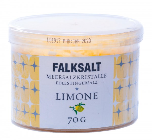 Falksalt Fingersalz Limone, 70 g