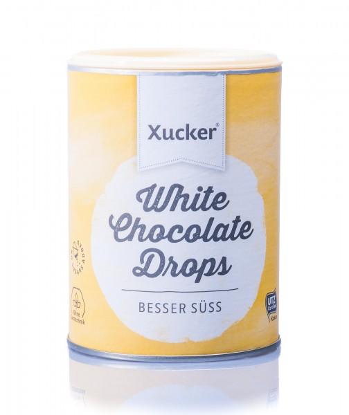Xucker Weiße Schoko-Drops, 200 g