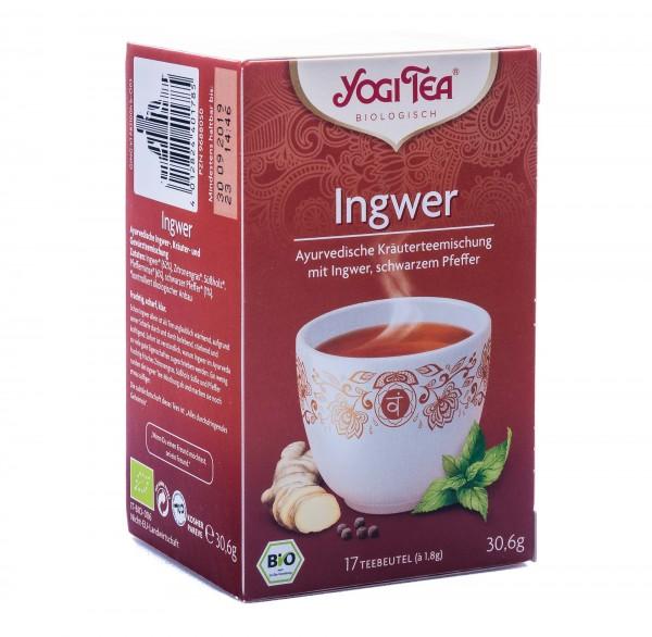 Yogi Tea Bio Ingwer Tee, 17 Teebeutel á 1,8 g