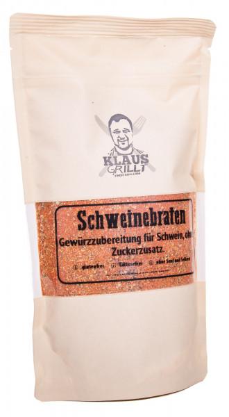 Klaus Grillt Schweinebraten Gewürzzubereitung, 250 g