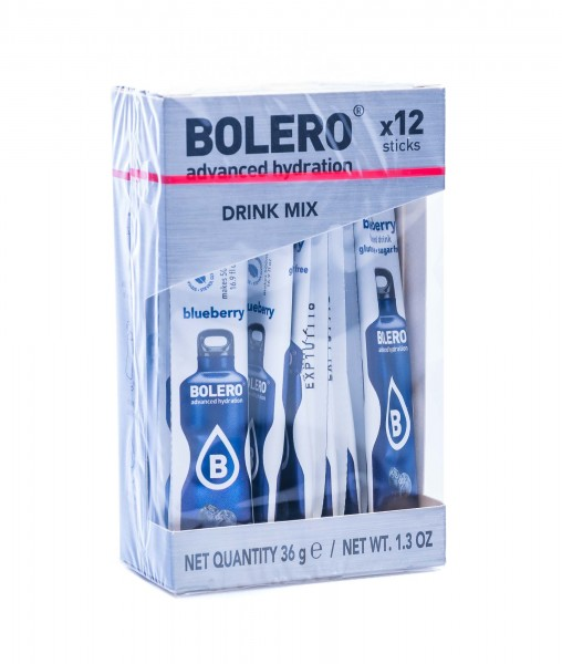 Bolero Sticks Blueberry, 12er Pack (12 x 3 g)