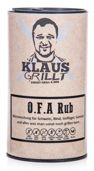 Klaus Grillt O.F.A Rub, Streuer, 120 g