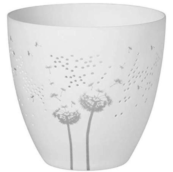 Räder Poesielicht Pusteblume, feiner Teelichthalter aus Porzellan