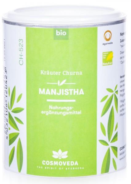 Cosmoveda Bio Manjistha Churna Kräuterpulver, 100 g