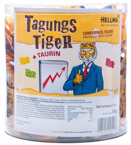 Hellma Tagungs Tiger Minibeutel, 100 x 10 g (1000 g)