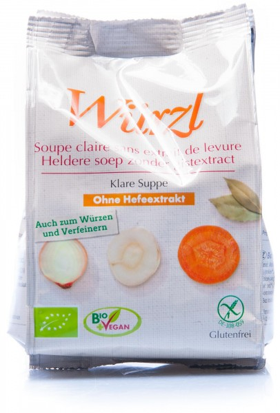 Eden Bio Würzl Klare Suppe hefefrei, 250 g Nachfüllbeutel