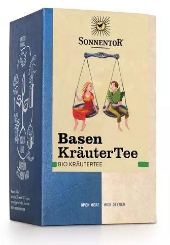 Sonnentor Bio Basen-Kräuter-Tee, Doppelkammerbeutel, 27 g