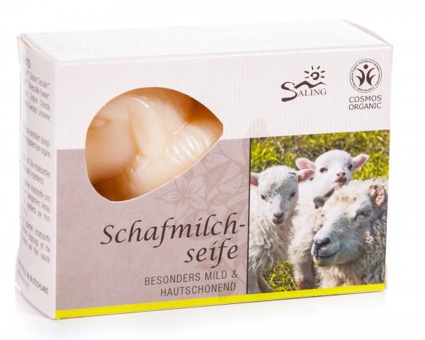 Saling Schafmilchseife Weißes Schaf, 2er Pack (2 x 85 g)