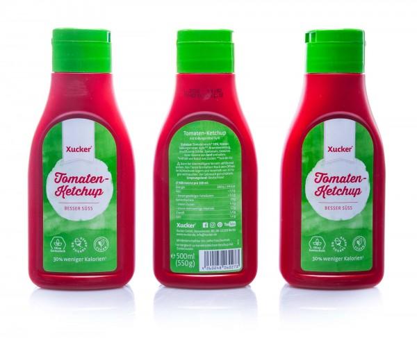 Xucker Xylit-Tomatenketchup, 3er Pack (3 x 500 ml)