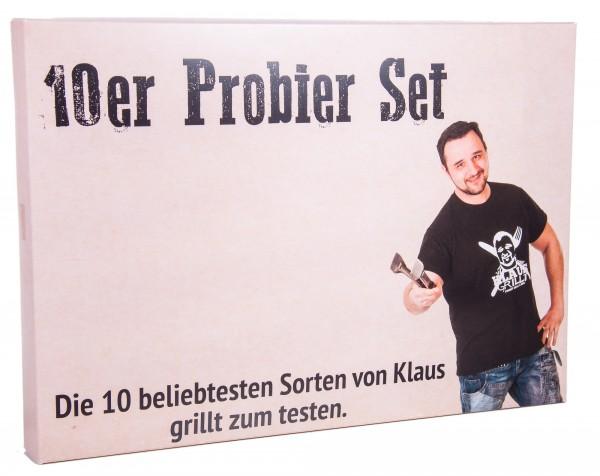 Klaus Grillt Gewürzmischungen 10er Probierset #1, 1000 g (10 x 100 g)