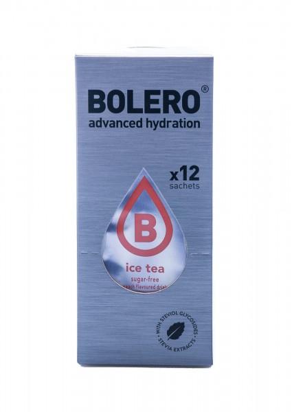 Bolero Drinks Getränkepulver Eistee Pfirsich, 12er Pack (12 x 8 g)