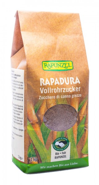 Rapunzel Bio Rapadura Vollrohrzucker HiH, 1000 g