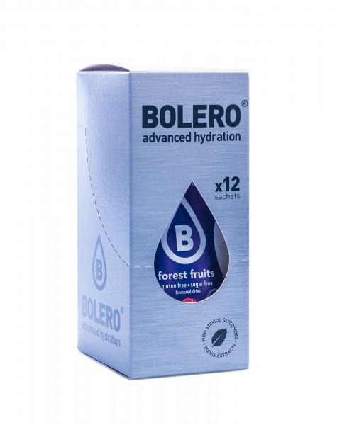 Bolero Drinks Getränkepulver Waldfrüchte Forest Fruit, 12er Pack (12 x 9 g)