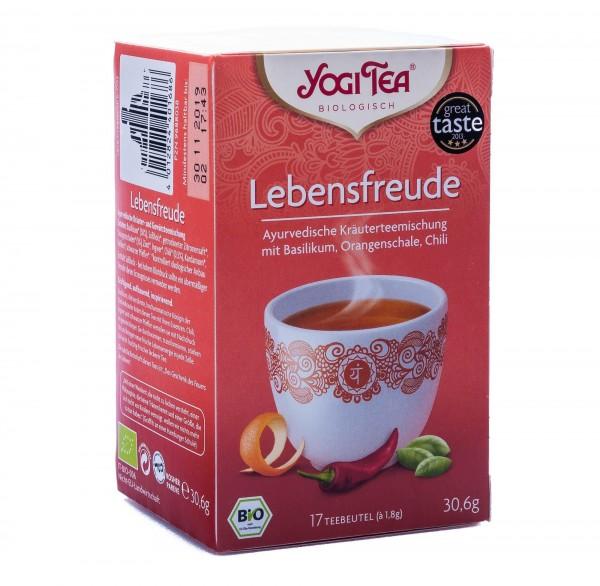 Yogi Tea Bio Lebensfreude Tee, 17 Teebeutel á 1,8 g