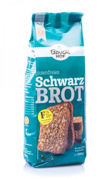 Bauckhof Bio Schwarzbrot Brotbackmischung, 500 g