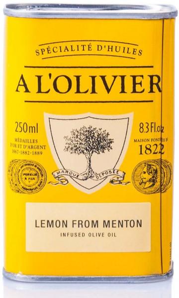 A L'Olivier Olivenöl mit Zitrone, 250 ml