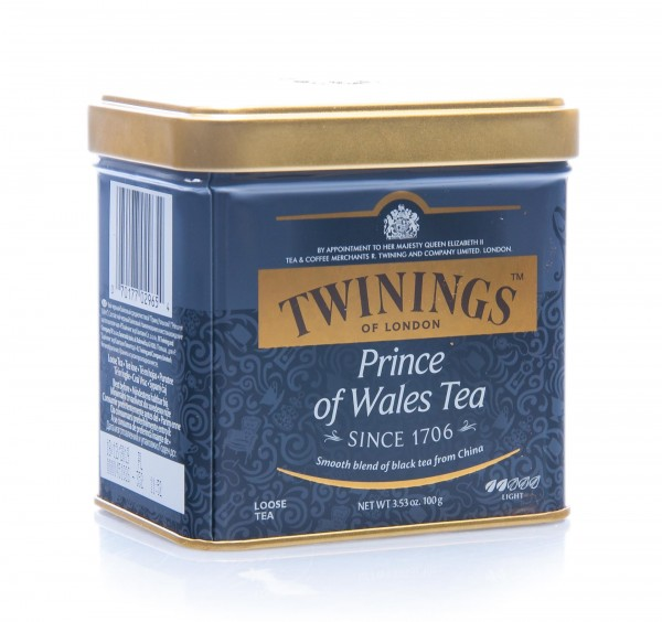 Twinings of London Prince of Wales Tea, lose, Dose, 100 g