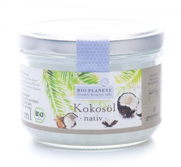 Bio Planete Bio Kokosöl nativ, 200 ml