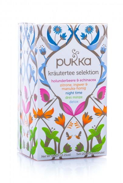 Pukka Bio Kräutertee Selektion, 20 Teebeutel, 36 g