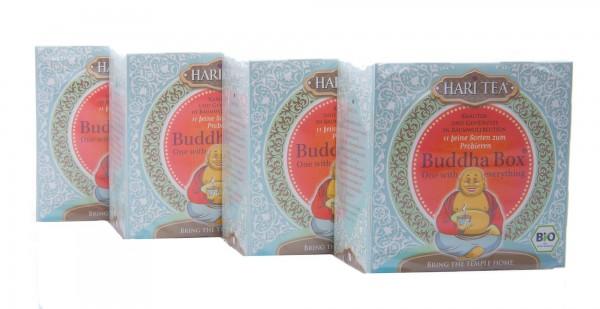 Hari Tea Bio Buddha Box 4er Pack (4 Boxen á 22 g)