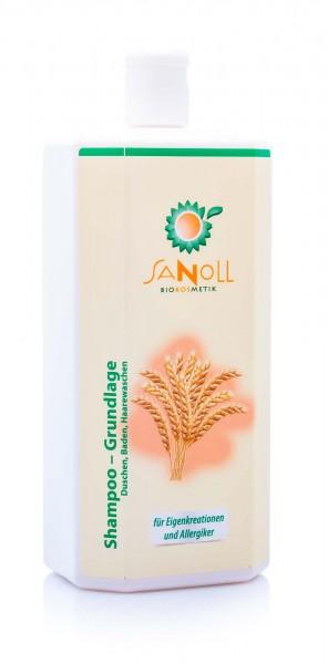 Sanoll Shampoo & Dusch-Bad Basis, 1000 ml