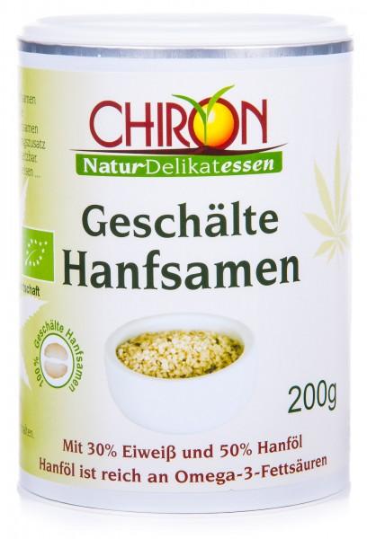 Chiron Bio Geschälte Hanfsamen, 200 g