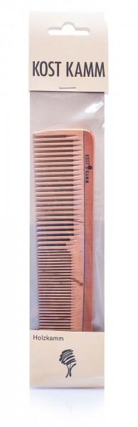 KostKamm Frisierkamm Holz, 18 cm