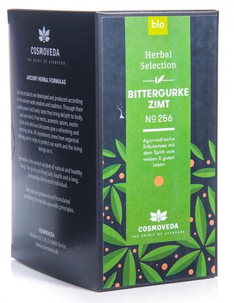 Cosmoveda Bio Bittergurke Zimt Tee, 25 Teebeutel, 45 g