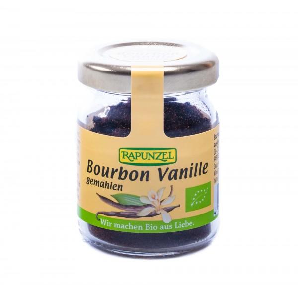 Rapunzel Bio Bourbon Vanille gemahlen, 15 g