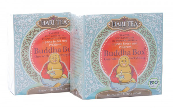 Hari Tea Bio Buddha Box, 2er Pack (2 Boxen à 22 g)