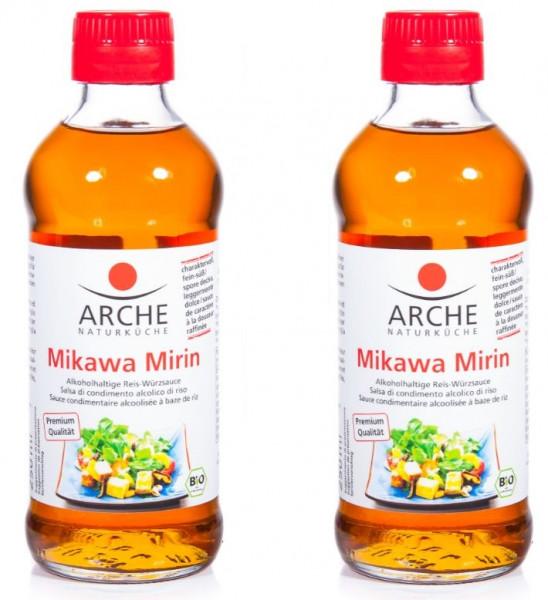 Arche Bio Mikawa Mirin Würzsauce aus Reis, 2er Pack (2 x 250 ml)