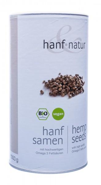 Hanf&Natur Bio Hanfsamen ungeschält, 1000 g