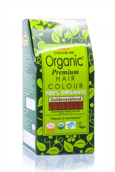 Radico Colour Me Organic Pflanzenhaarfarbe Goldenblond goldblond (früher: Golden Brown), 100 g