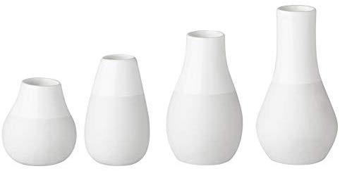 Räder Minivasen, Set aus 4 Vasen, 4,5 - 8 cm hoch