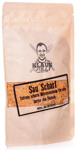 Klaus Grillt Sau Scharf Würzmischung, 200 g