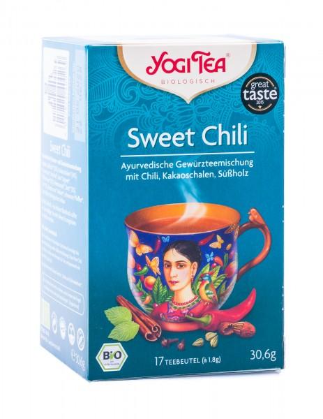 Yogi Tea Bio Sweet Chili, 17 Teebeutel á 1,8 g