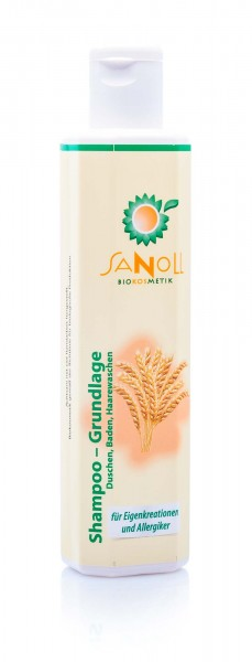 Sanoll Shampoo & Dusch-Bad Basis, 200 ml