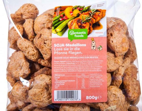 Vantastic Foods Soja Medaillons Fleischersatz Sojafleisch, 800 g