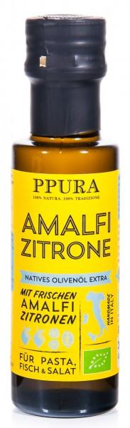 PPura Bio Olivenöl Amalfi Zitrone, 100 ml