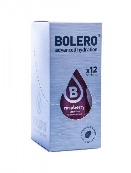 Bolero Drinks Getränkepulver Himbeere Raspberry, 12er Pack (12 x 9 g)