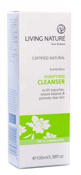 Living Nature Purifying Cleanser Klärendes Reinigungsgel, 100 ml
