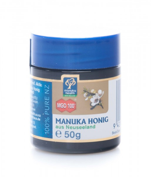 Manuka Health Manuka Honig MGO 100+ aus Neuseeland, 50 g